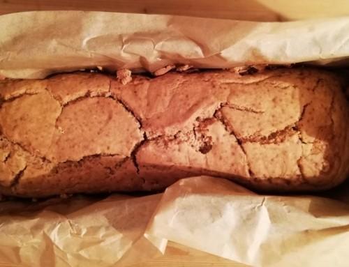 Przepis na chlebek kukurydziany z pyłkiem sosnowym