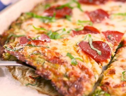 Przepis na szybką FIT pizzę ze spodem z cukini